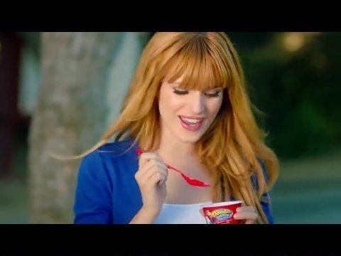 Bella Thorne - Danimals Greek Lowfat Yogurt TV Commercial
